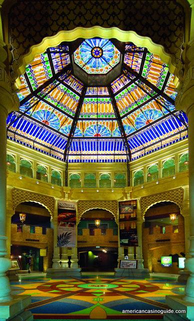 The atrium at Argosy