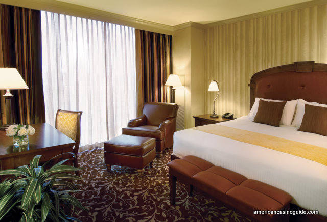 A standard hotel room at The Argosy