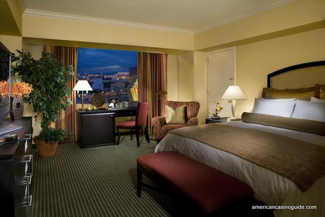 A Standard Room at teh Las Vegas Hilton