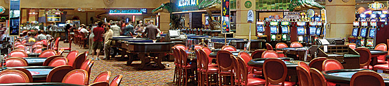 The casino at The Orleans