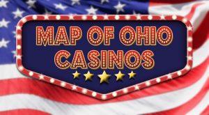 Ohio Casinos Map