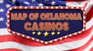 Oklahoma Casinos Map | American Casino Guide Book